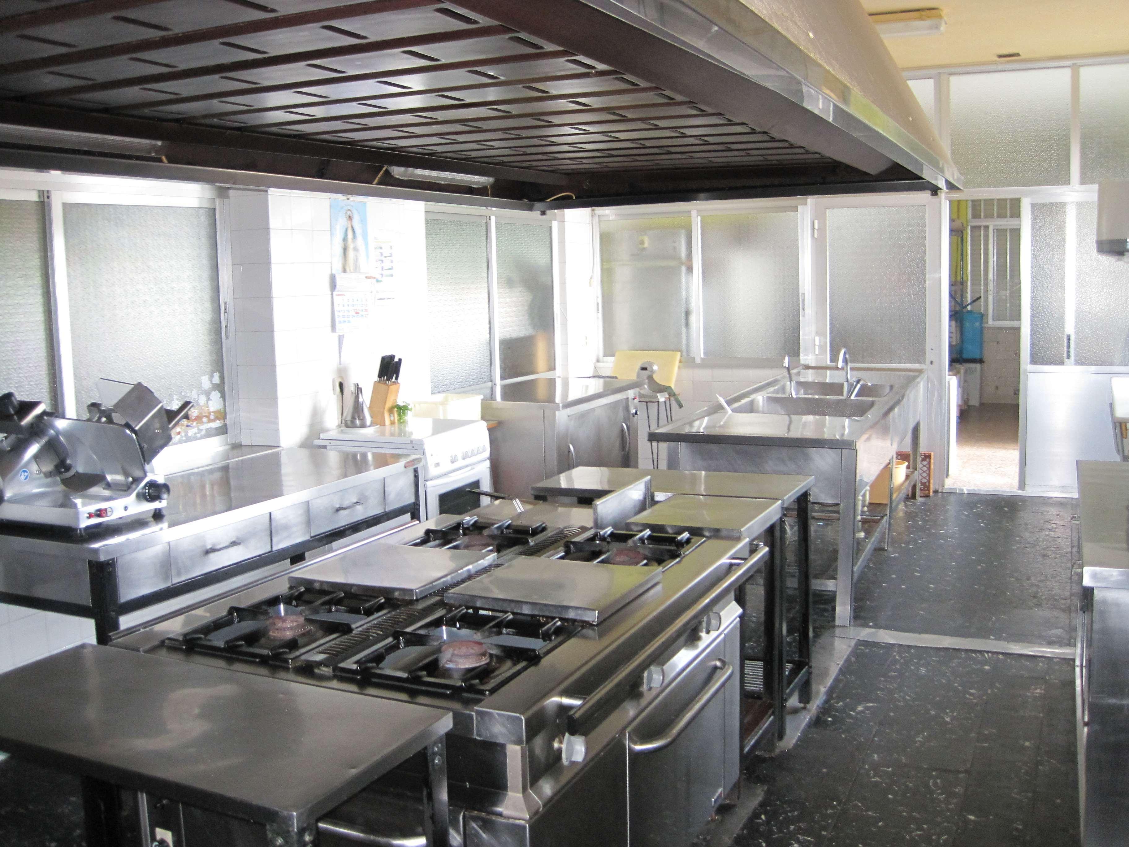 Colegios en Polanco Torrelavega Colegio la MIlagrosa COCINA