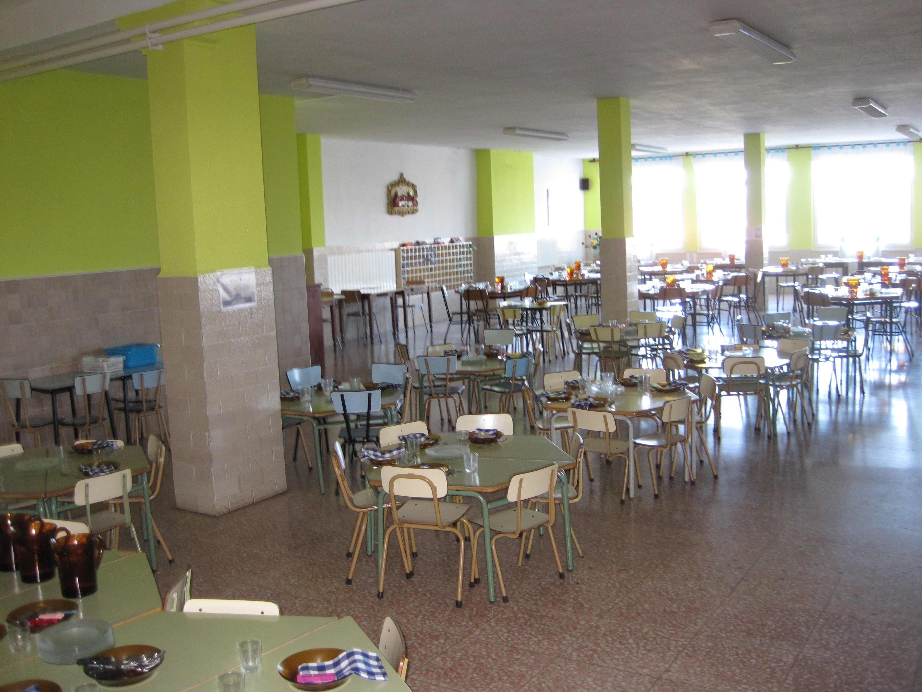 Colegios con comerdor en Polanco Torrelavega Colegio la MIlagrosa COMEDOR