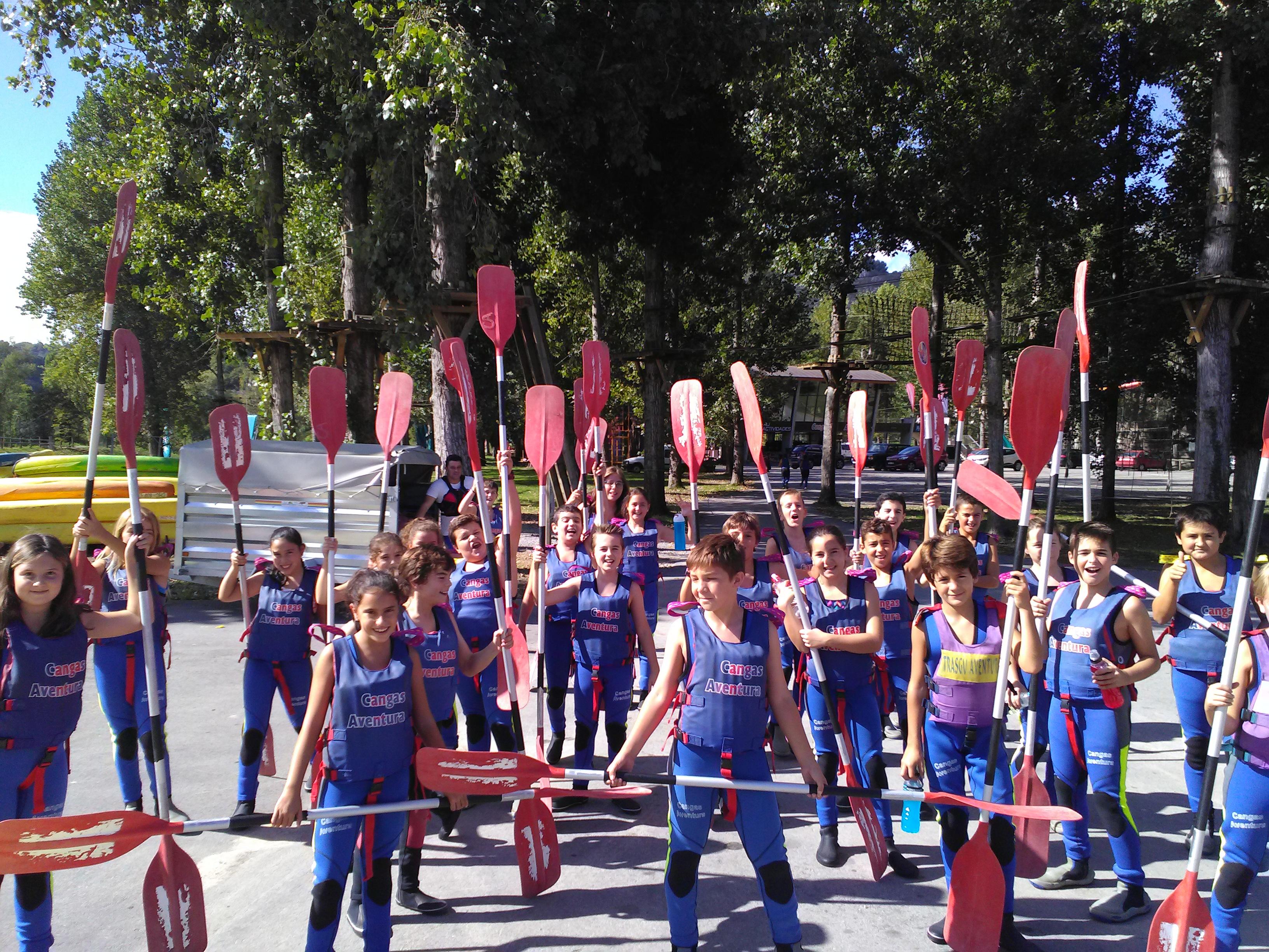 Los alumnos de 5º y 6º viajan a Ribadesella