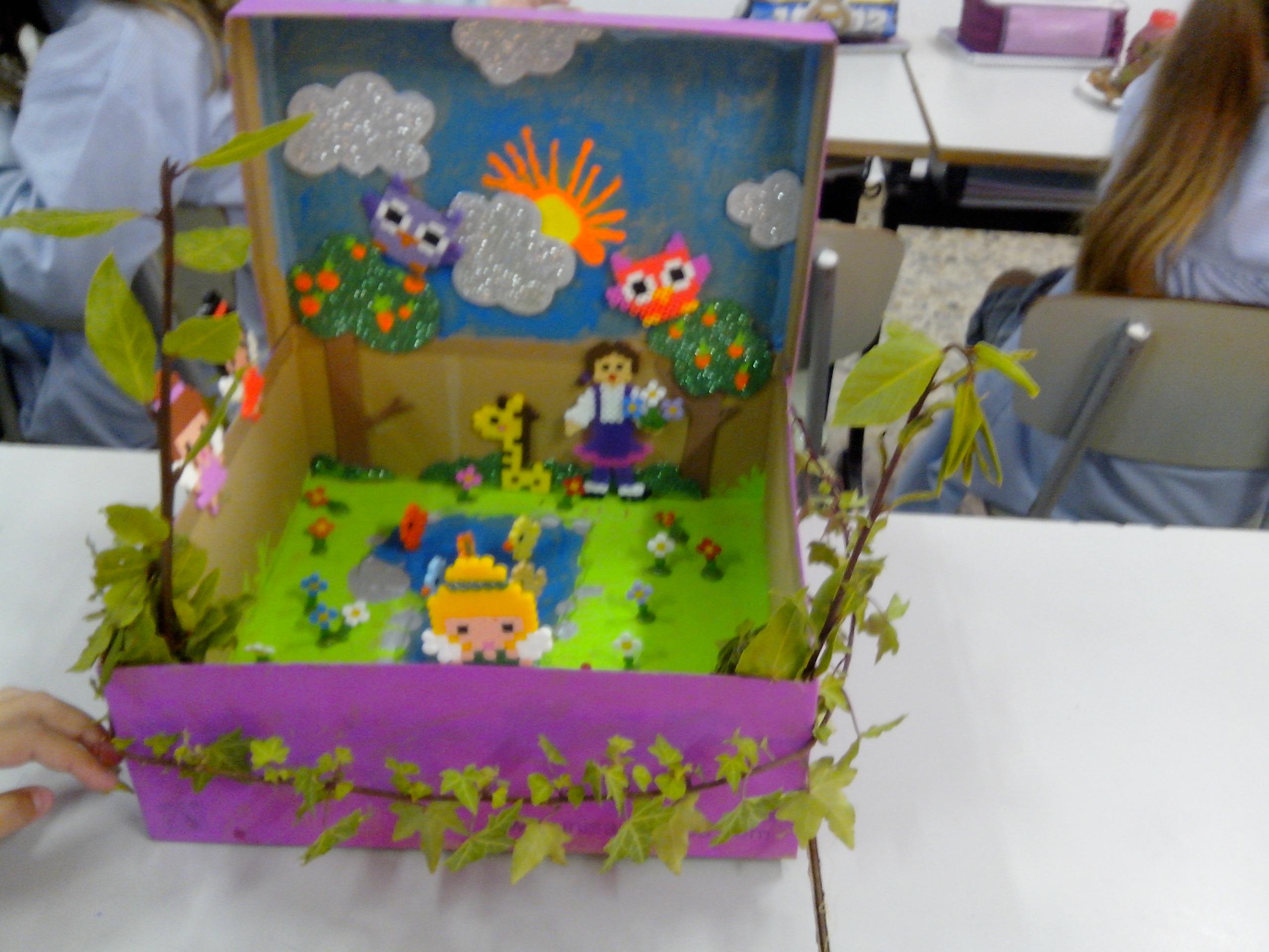 Los alumnos de 5º de primaria trabajan los ecosistemas en familia