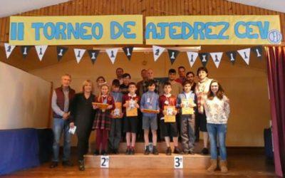Crónica II Torneo de Ajedrez educativo Centros Vicencianos