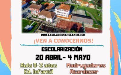 Escolarización  Curso 2021-2022